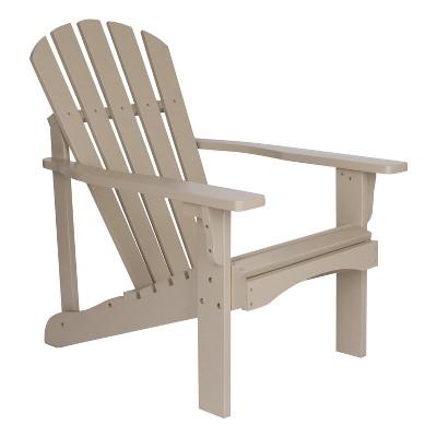 Rockport Adirondack Chair Gray - Shine Company Inc.
