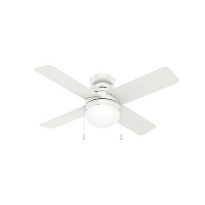 """44"""" Timpani Low Profile Ceiling Fan (Includes LED Light Bulb) - Hunter Fan"""