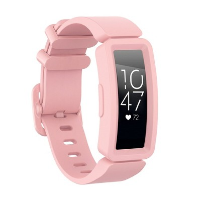 Insten Soft Silicone Replacement Band For Fitbit Inspire HR & Inspire / Inspire 2 & Ace 2, Pink