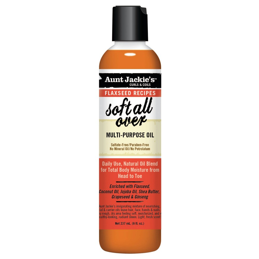 Image of Aunt Jackie's Soft All Over Multi Purpose Oil - 8 fl oz