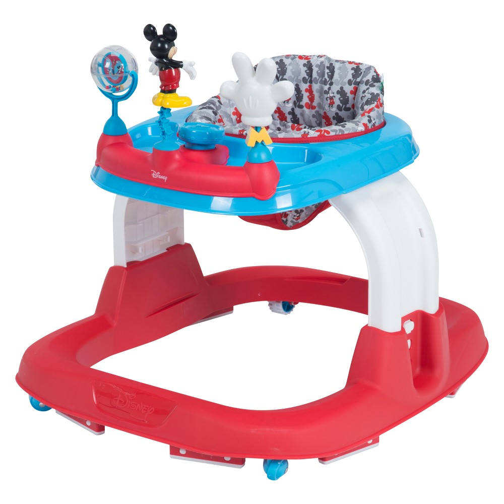 Image of Disney Mickey Mouse & Friends Ready Set Walk! Walker - Mickey Line Up