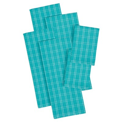 Julep Heavyweight Dishtowels And Dishcloths (Set Includes 4 Towels And 2 Cloths)- Design Imports