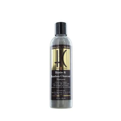 Haircredible Biotin & Bamboo Charcoal Shampoo - 8 fl oz