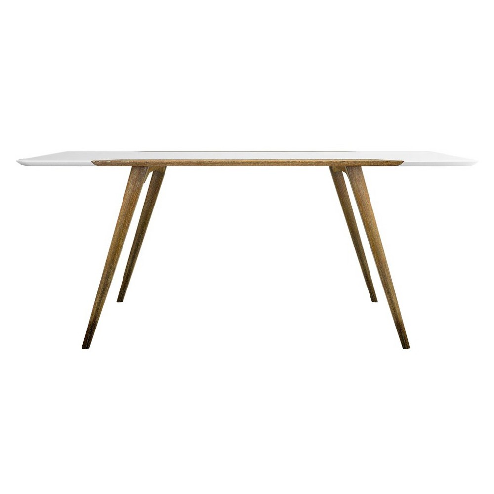 Andrew Dining Table Wood/White/Ash - Aeon