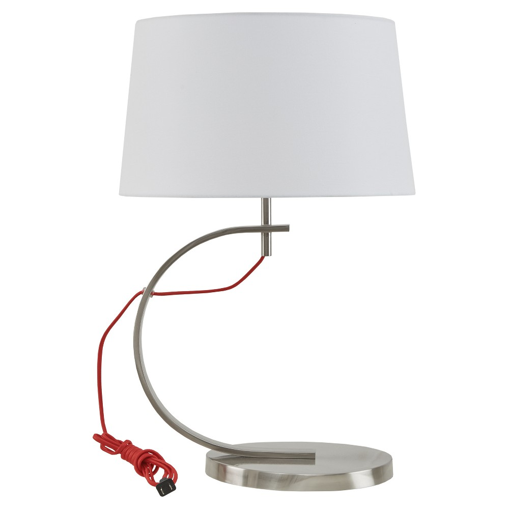 Octavia Table Lamp - Red (Lamp Only)