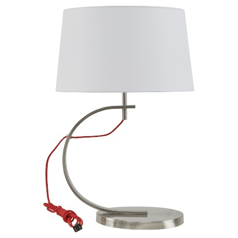 Octavia Table Lamp Red Lamp Only Target