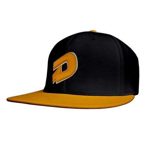 5b8181afbc7 DeMarini D Logo Flat Bill Baseball Softball Flex-Fit Hat   Target