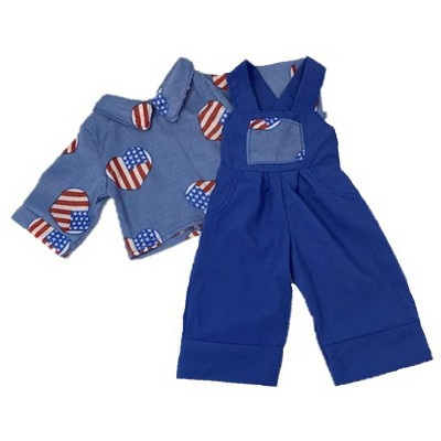 Doll Clothes Superstore Farm Overalls Fits 18 Inch Boy Like American Girl Our Generation