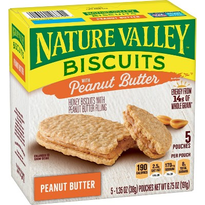 Granola & Protein Bars: Nature Valley Biscuits