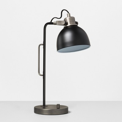 Desk Lamp Black / Pewter - Hearth & Hand™ with Magnolia