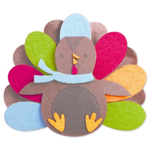 Harvest Felt Turkey Kit - Spritz™ - image 1 of 2