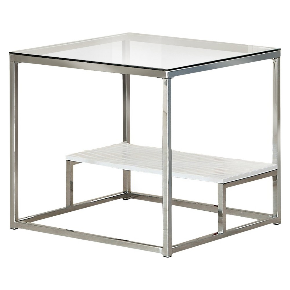 ioHomes End Table Winter White