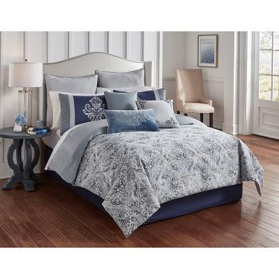 Riverbrook Home Clanton Comforter & Sham Set Blue
