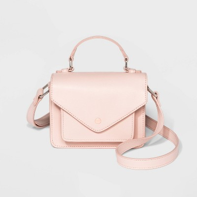 mini-top-handle-crossbody-bag---wild-fable-pink by wild-fable