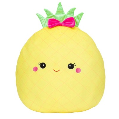 "Squishmallows Official Kellytoy Plush 16"" Maui the Pineapple Ultrasoft Stuffed Animal Plush Toy"