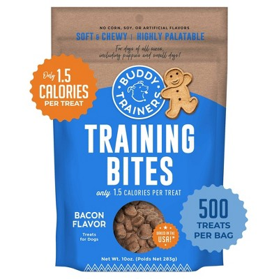 Buddy Biscuits Training Bites Bacon Dry Dog Treats - 10oz