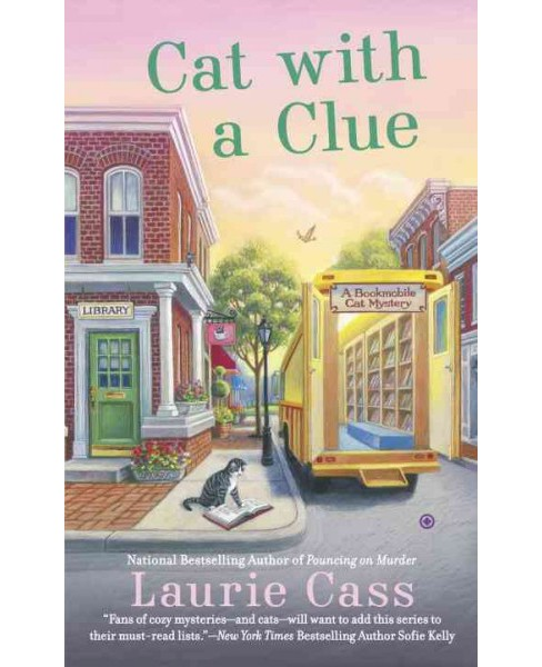 Cat with a Clue (Paperback) (Laurie Cass) - image 1 of 1