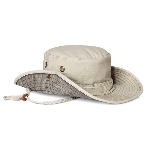 5580600bb8d Men s Cotton Canvas Floppy Hat - Goodfellow   Co™ Khaki   Target