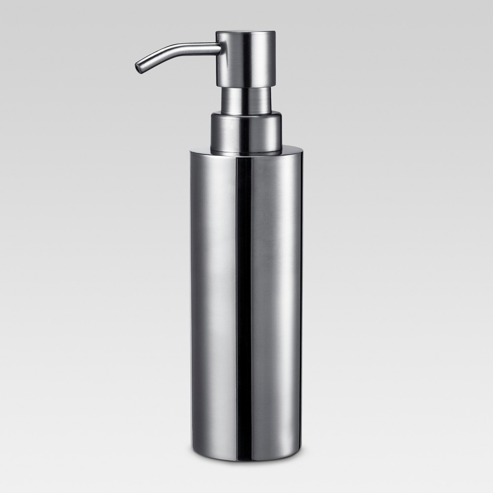 Image of Brushed Stainless Steel Soap Dispenser - Threshold