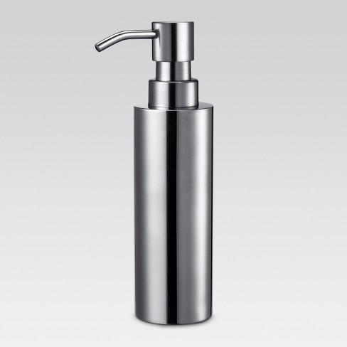Brushed Stainless Steel Soap Dispenser Threshold Target