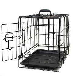 Oxgord Paws & Pals Two Door Wire Pet Crate