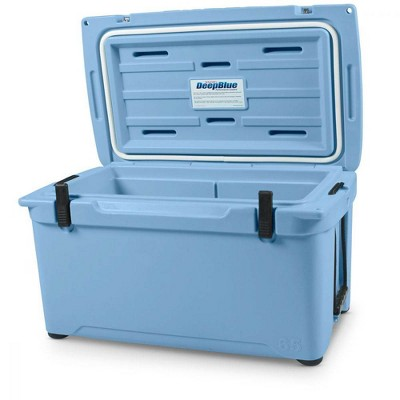 Engel Coolers 58 Quart 70 Can High Performance Roto Molded Ice Cooler, Blue