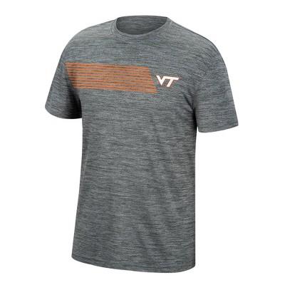 NCAA Virginia Tech Hokies Men's Mesh Gray T-Shirt