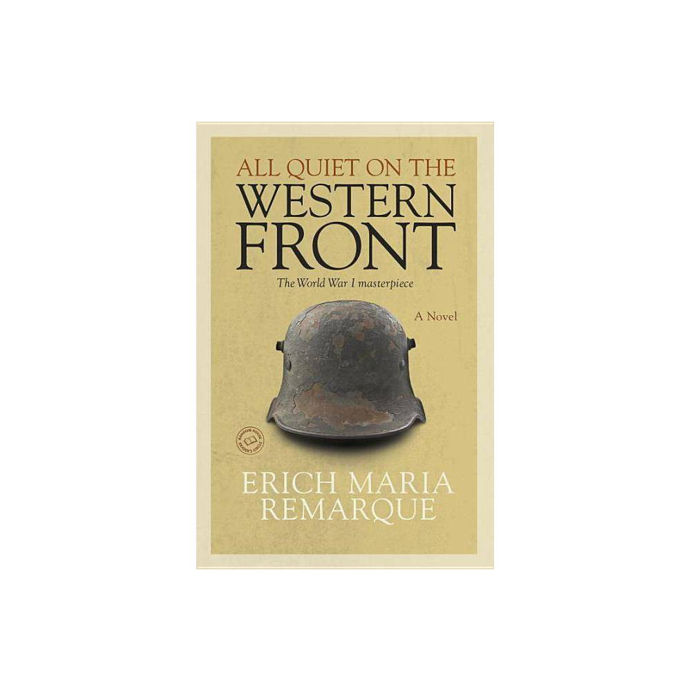 All Quiet On The Western Front By Erich Maria Remarque Paperback