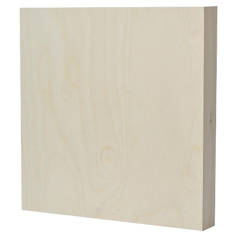 American Easel Primed Wood Painting Panel, Clear Gesso - image 1 of 2