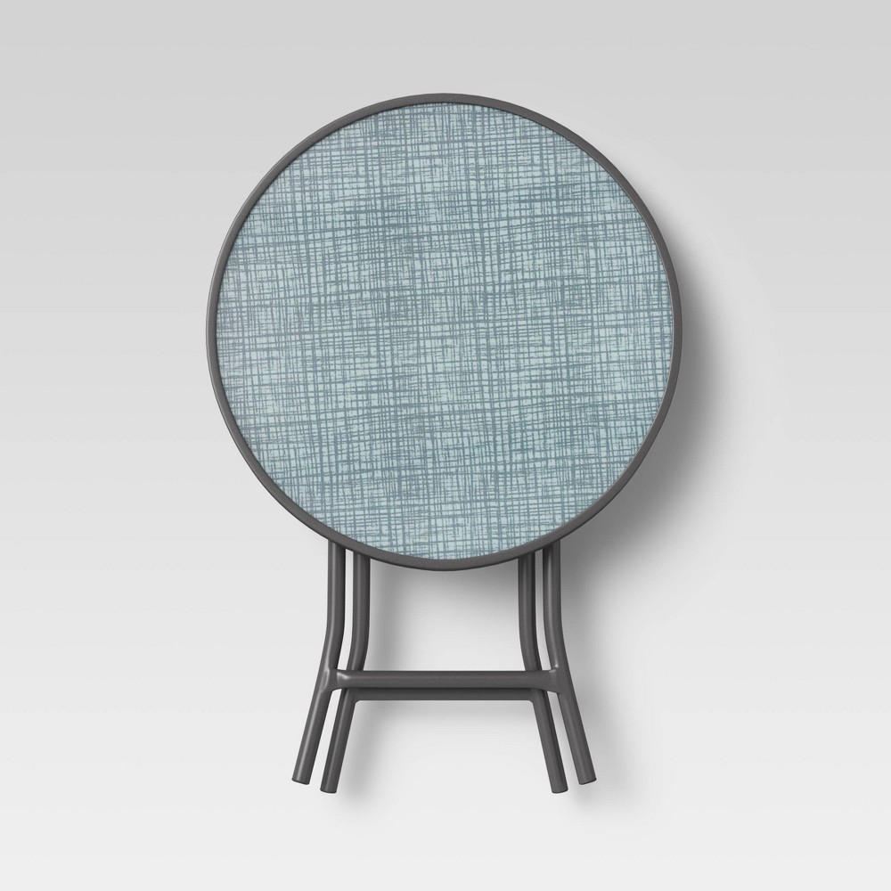 Printed Grid Patio Accent Table Room Essentials 8482
