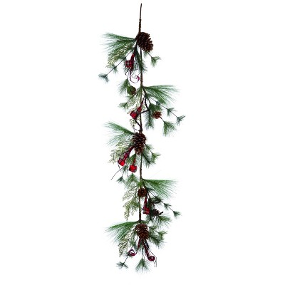 Transpac Artificial 60 in. Brown Christmas Holiday Garland