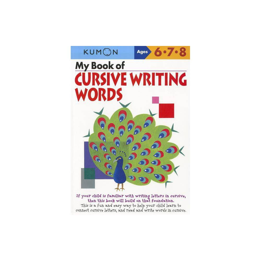 My Book Of Cursive Writing Words Ages 6 8 Paperback