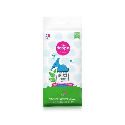 Dapple Baby Breast Pump Cleaner Wipes - Fragrance Free