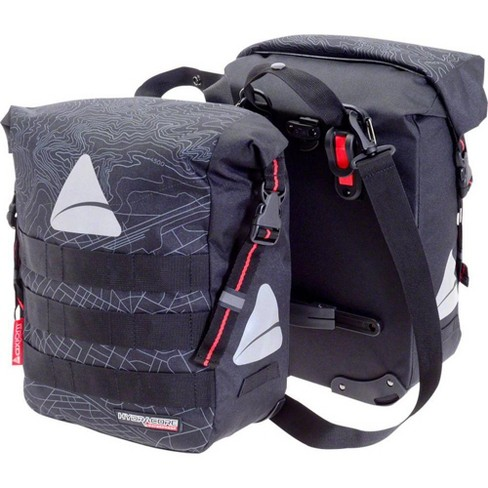 Axiom Monsson Hydracore 32+ Panniers: Gray - image 1 of 1