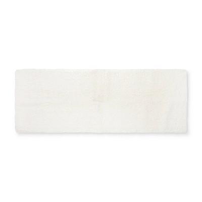 60 x22  Tufted Spa Bath Runner Cream - Fieldcrest®