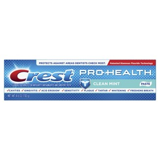 Crest Pro-Health Smooth Formula Toothpaste Clean Mint Paste - 4.6oz