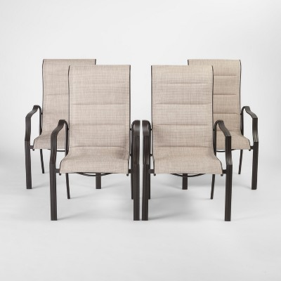 Marrion 4pk Sling Patio Dining Chair