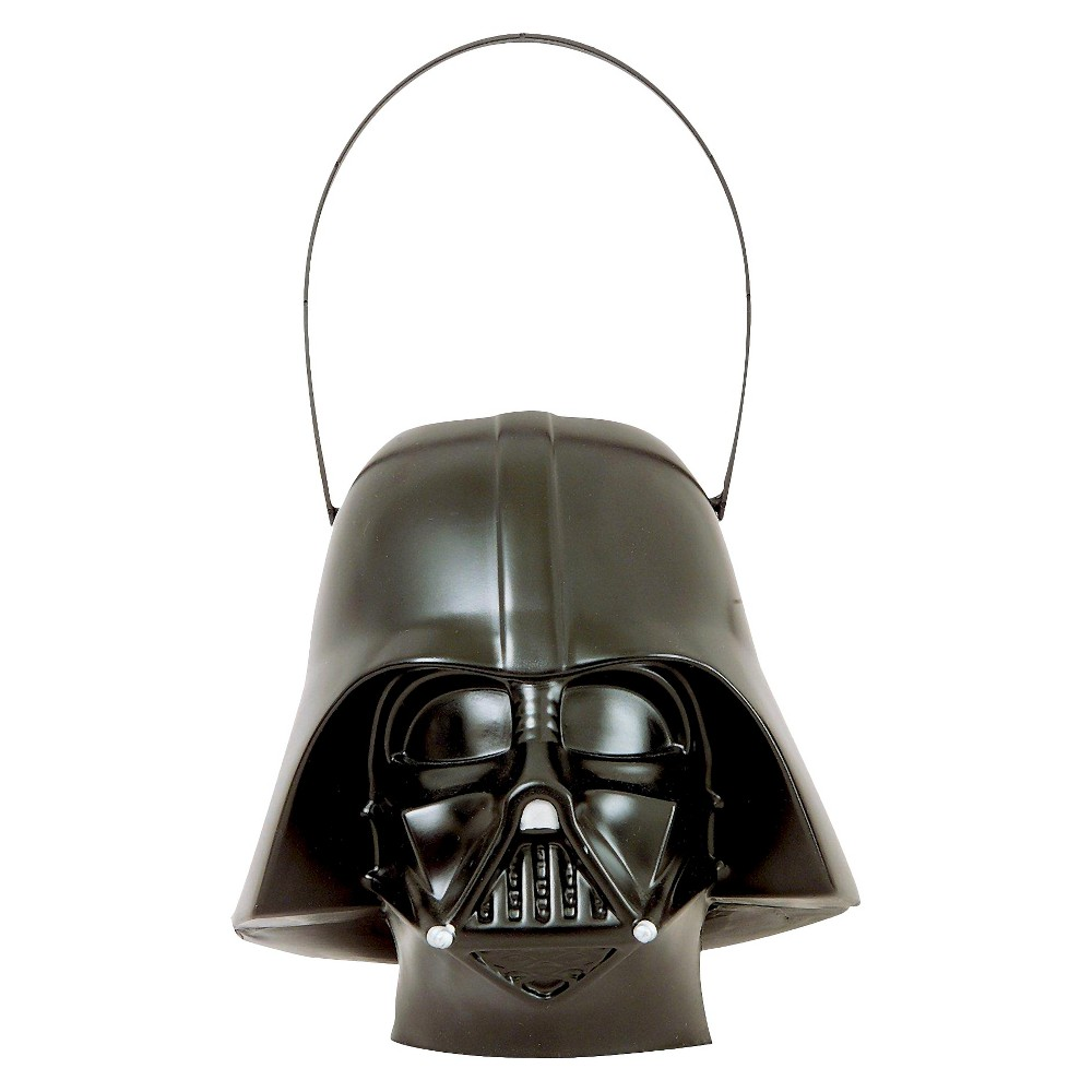 Star Wars Darth Vader Trick or Treat Pail, Black