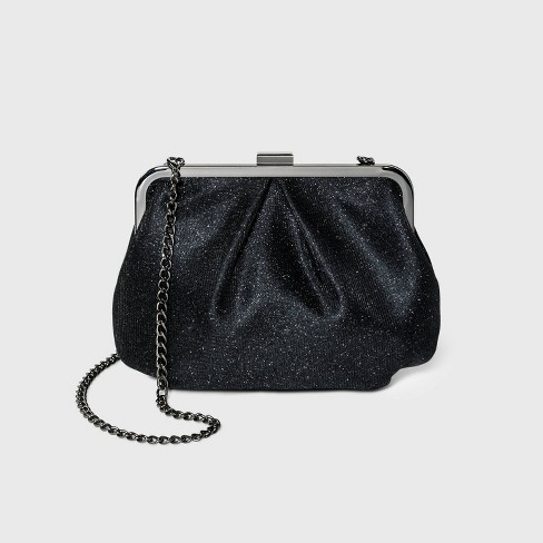 Glitter Frame Clutch - A New Day™ - image 1 of 3