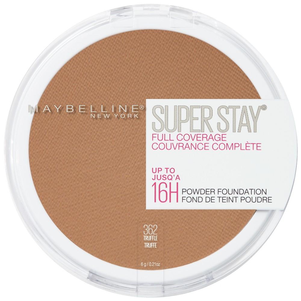 Maybelline Super Stay Full Coverage Pressed Powder Foundation 362 Truffle 0 21oz