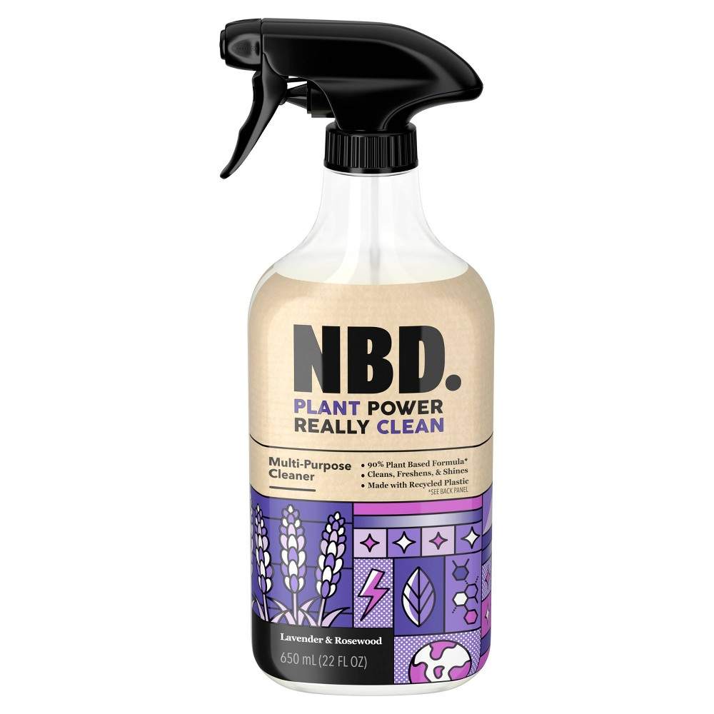 NBD Lavender & Rosewood Multi Purpose Cleaner - 22 fl oz
