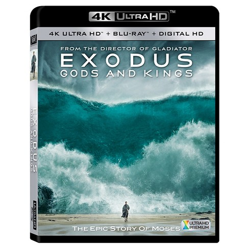 Exodus: Gods and Kings [Includes 4K Ultra HD] (Blu-ray] [Digital HD Copy] - image 1 of 1