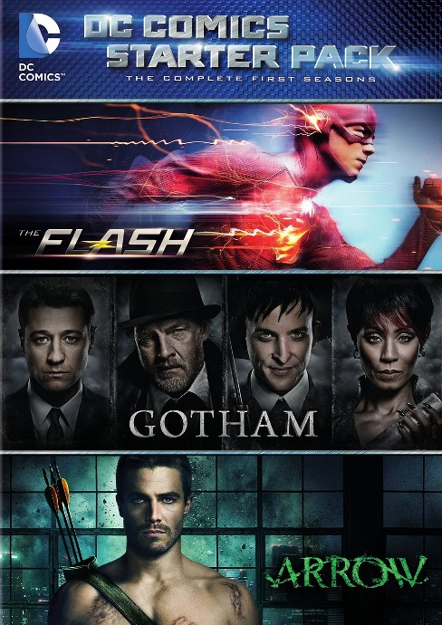 Dc Starter Pack (Flash/Arrow/Gotham S (DVD) - image 1 of 1