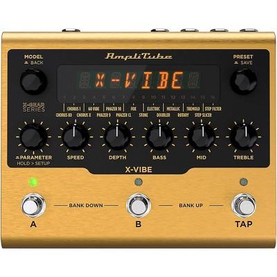 IK Multimedia AmpliTube X-VIBE Modulation Effects Pedal Gold