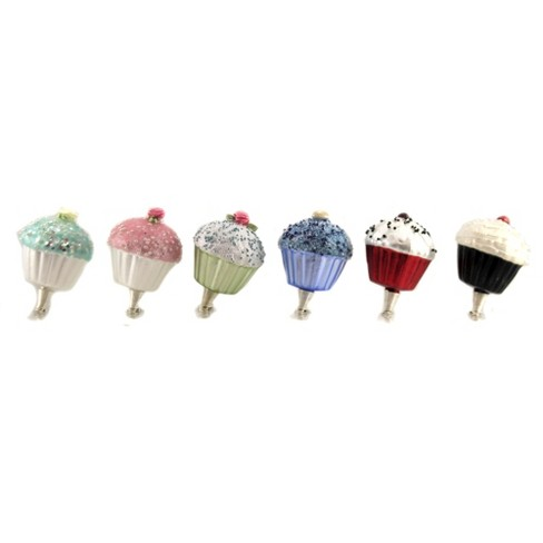 Golden Bell Collection 2 5 Cupcakes Clip On Party Christmas Tree Ornaments Target