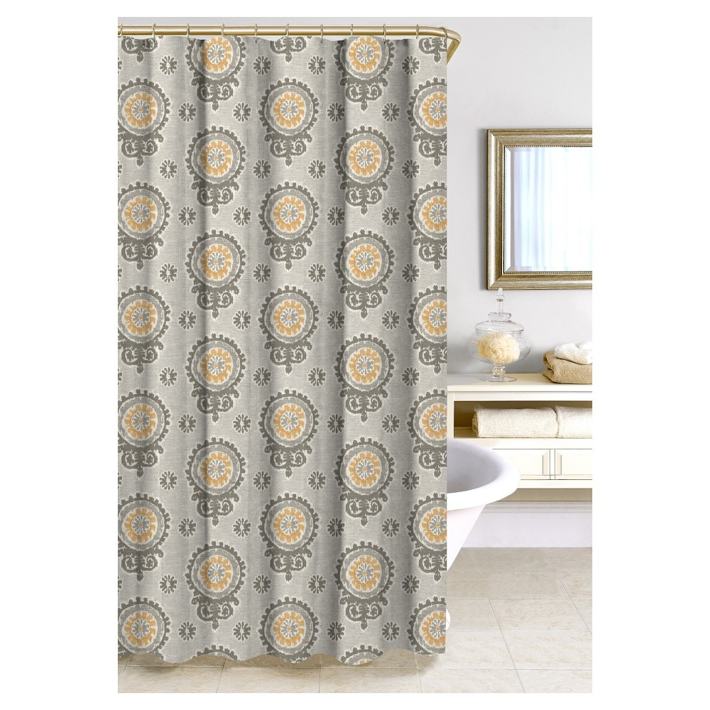 Image of Olivia Shower Curtain Beige - Homewear, Multi-Colored