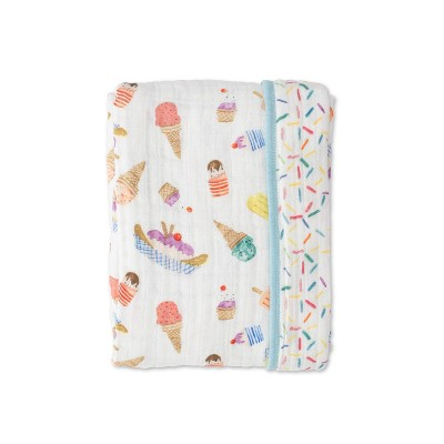Red Rover Cotton Muslin Quilt - Ice Cream Parlor