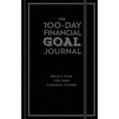 The 100-Day Financial Goal Journal - by Alyssa Davies (Hardcover)
