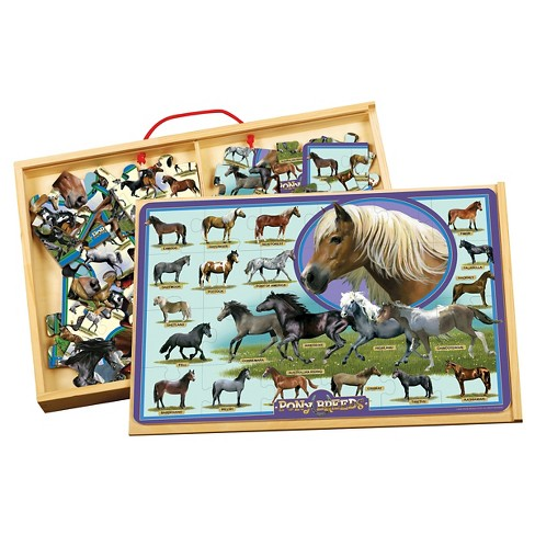 TS Shure Horse Breeds and Ponies Puzzle Set 48pc - image 1 of 2