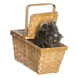 The Wizard of Oz Toto in Basket Halloween Costume Accessory
